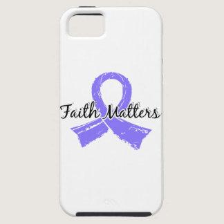 Faith Matters 5 Stomach Cancer iPhone SE/5/5s Case