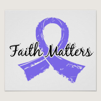 Faith Matters 5 Stomach Cancer Poster