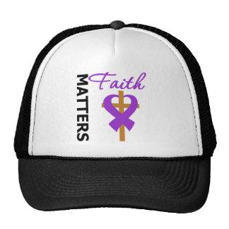 Faith Matters Alzheimer's Disease Trucker Hat