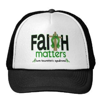 Faith Matters Cross Tourette's Syndrome Trucker Hat