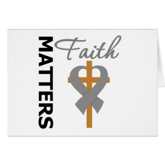 Faith Matters Diabetes Greeting Cards