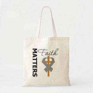 Faith Matters Diabetes Tote Bag