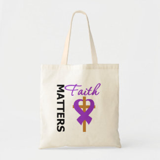 Faith Matters Fibromyalgia Tote Bags