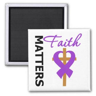 Faith Matters Fibromyalgia Refrigerator Magnet