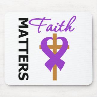 Faith Matters Fibromyalgia Mouse Pad