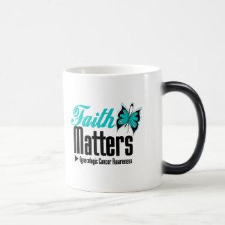 FAITH MATTERS Gynecologic Cancer Awareness Mugs