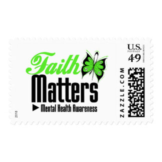 Faith Matters - Mental Health Awareness Postage Stamp