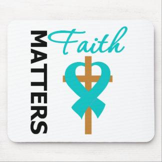 Faith Matters Ovarian Cancer Mousepads