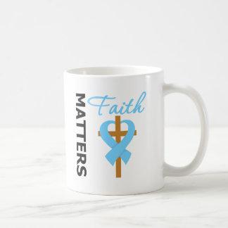 Faith Matters Prostate Cancer Coffee Mugs