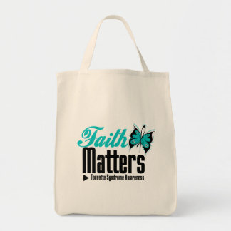 Faith Matters Tourette Syndrome Tote Bag