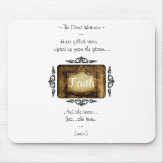Faith Mousepad By Pâtisseries Poétique de Muse