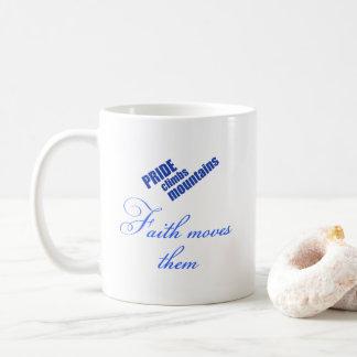 faith-moves-mountains Christian design Coffee Mug