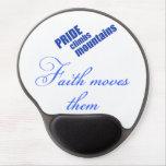 Faith Moves Mountains Christian Mousepad Gel Mouse Pad