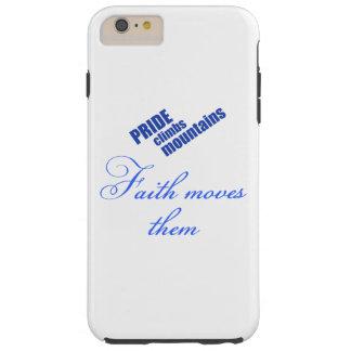 Faith Moves Mountains Tough iPhone 6 Plus Case