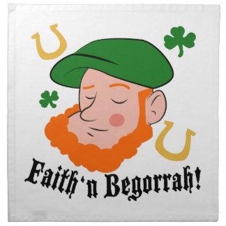 Faith n Begorrah Napkin