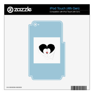 Faith original design iPod touch 4G skins