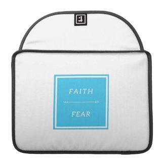 """Faith Over Fear MacBook Pro 13"""" Sleeve"""