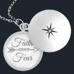 """Faith over Fear necklace<br><div class=""""desc"""">customize any way you wish!</div>"""