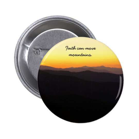 Faith Pinback Button