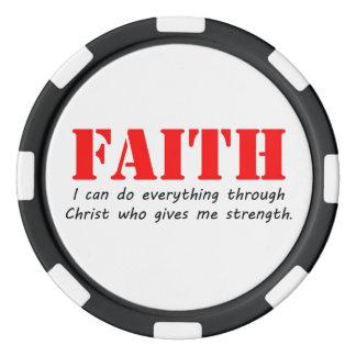 Faith Poker Chips Set