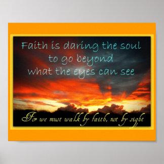 Faith Poster
