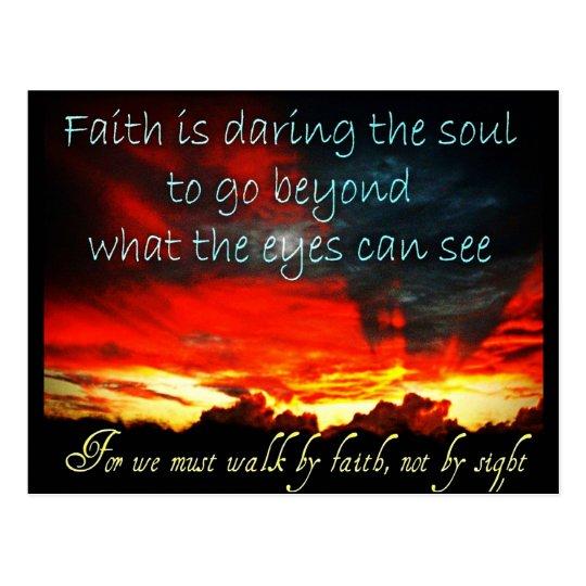 Faith Postrcard Postcard