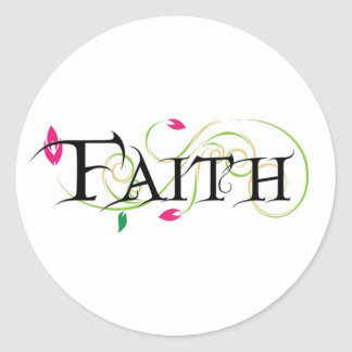 Faith Products Round Stickers