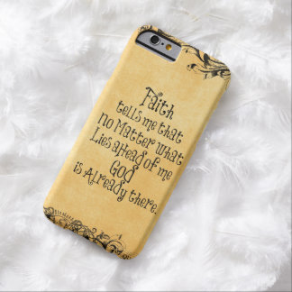 Faith Quote Barely There iPhone 6 Case