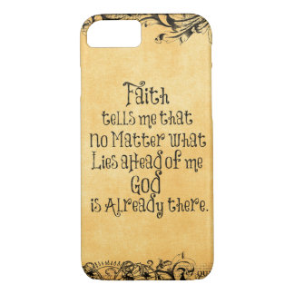 Faith Quote iPhone 7 Case