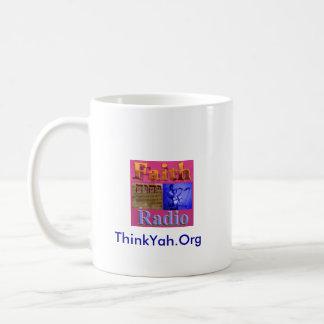 Faith Radio Support ThinkYah.Org Mugs