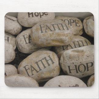 Faith Rocks Mousepad