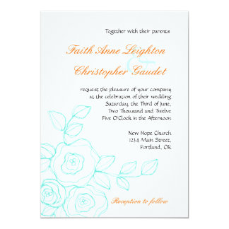 Faith Rose - Wedding Invitation