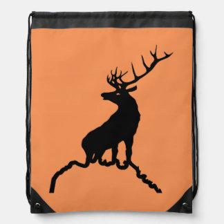 Faith Seekers Elk Drawstring Backpack