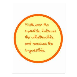 Faith Sees Postcard