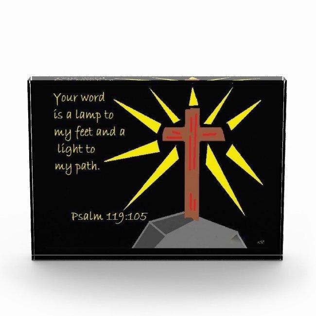 Faith series Psalm 119:105 Scripture Art