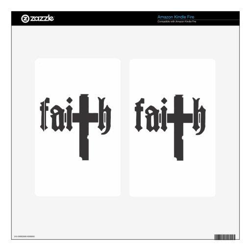 Faith Skin For Kindle Fire