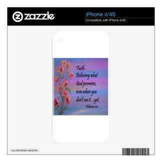 Faith Skin For The iPhone 4