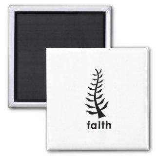Faith Square Magnet
