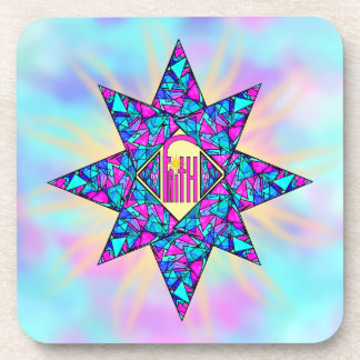 Faith ~ Star Beverage Coaster