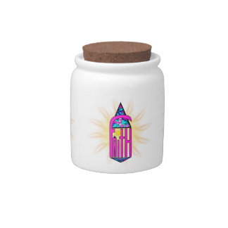 Faith ~ Steeple Candy Jars