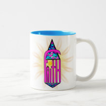 Faith ~ Steeple Two-Tone Coffee Mug
