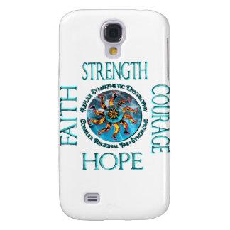 Faith Strength Courage Hope CRPS RSD Galaxy S4 Case