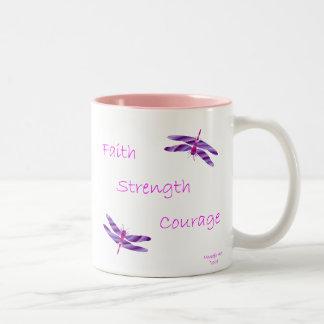 Faith Strength Courage Mug