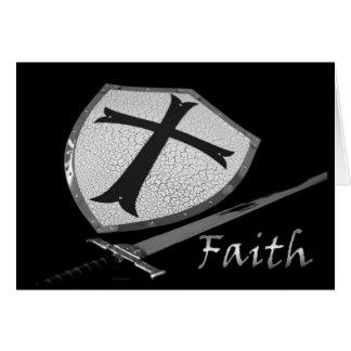faith sword and shield card