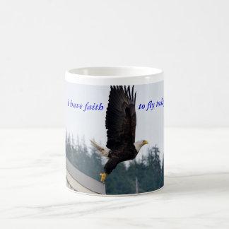 Faith to fly mug