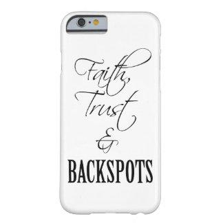 Faith, Trust, and Backspots Cheer iPhone 6 Case