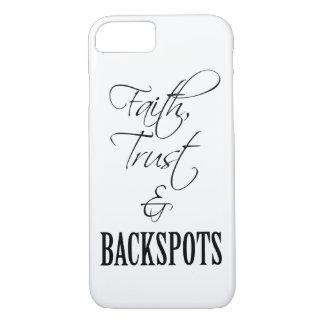 Faith, Trust, and Backspots Cheer iPhone 7 Case