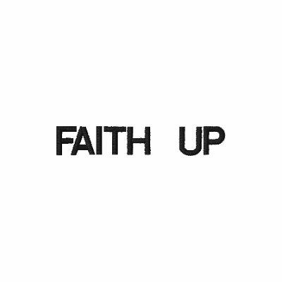 Faith up embroidered shirt