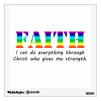Faith Wall Sticker