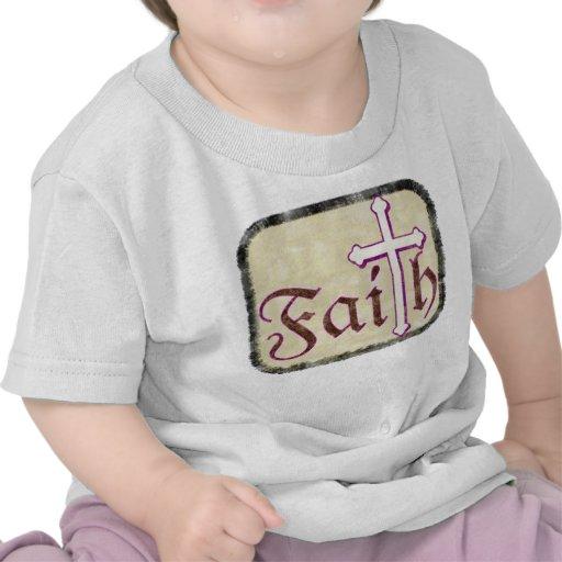 Faith with Cross T Shirt